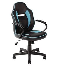 HOME Mid Back Office Gaming Chair - Blue & Black - Xro45