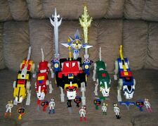 MATTY COLLECTOR VOLTRON CLASSICS LION FORCE BLACK RED BLUE GREEN YELLOW SET