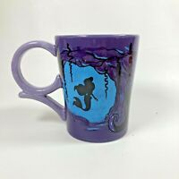 Disney Parks The Little Mermaid Villain Ursula Ceramic Coffee Mug Tough Choices
