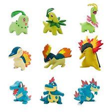 Pack de 9 Figurines Pokémon Starter Première Génération - Tomy