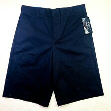 Size 16 French Toast Kids Boys Navy Blue School Uniform Shorts Nwt