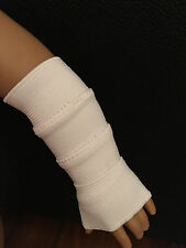 """Fits 15"""" Bitty Baby or Twins Doll Left Right Arm Cast Feel Better Kit Handmade"""