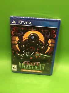 RARE Sony Psvita Ps Vita Game NEURO VOIDER Limited Run Games BRAND NEW & SEALED