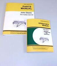 Operators Parts Manuals For John Deere Van Brunt Fb168a Fba Grain Drill Catalog