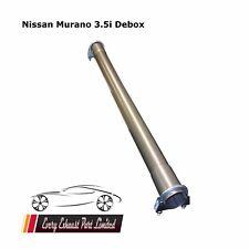 NISSAN Murano 3.5i Acciaio Inox Silenziatore Medio debox RICAMBIO TUBO deres