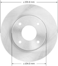 Disc Brake Rotor-Premium Brake Rotor Front Bendix PRT5983 fits 2009 Nissan Versa