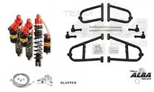 Alba A-Arms Elka Legacy Front and Rear Shocks Suspension Kit Yamaha Blaster 200