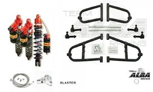 Alba A-Arms Elka Legacy Front and Rear Shocks Suspension Kit Yamaha Blaster 200
