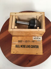 M1070 Bull Nose Live Center Mt2 Small End Did Ds2 619 70degree