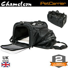 Chameleon Pet Travel Extending Carrier Bag - Small Cat Dog - Portable Crate