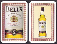 2 Bell's Scotch Whisky,Single Playing Cards