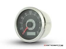 85mm GPS Analog Speedometer 200kph - Triumph Cafe Racer Rat Naked Bike Project
