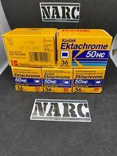 5x Kodak Ektachrome 50HC 35 film Slide Expired Fuji Agfa Perutz Ilford rare