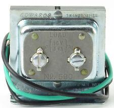Edwards 590 Primary 120V 50/60Hz Secondary 10V 5Va