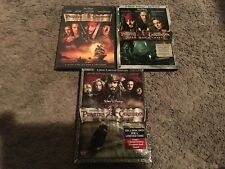 Pirates of the Caribbean Trilogy (DVD, 4-Discs) FIRST 3 MOVIES, VG-GREAT SHAPE