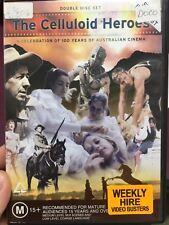The Celluloid Heroes - 100 Years Of Australian Cinema documentary ex-rental DVD