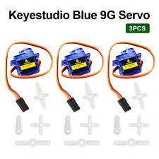 3Pcs 9G SG90 Micro Servo Motor 90 Degrees RC Robot Airplane Control for Arduino
