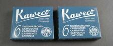 KAWECO Cartuchos 2 paquetes tinta azul / Negro NUEVO #