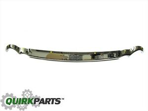 2005-2010 JEEP GRAND CHEROKEE FRONT CHROME AIR DEFLECTOR OEM NEW MOPAR