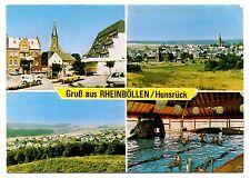Gruss Aus Rheinbollen Hunsruck Postcard Germany Hotel Swimming Pool Posted 1980