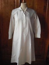 Linge ancien chemise de nuit femme manches longues vintage