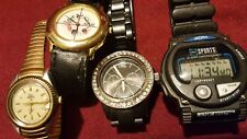 4 watches lot some wear some fix and wear pre-owned