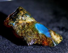 Genuine Dominican Clear Sky Blue Amber Rough Specimen natural Stone