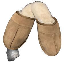 mens UGG Scuff Chesnut Brown Mule Slipper Sz 8