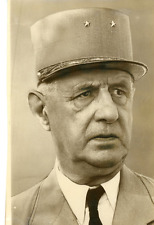 Charles De Gaulle Vintage silver print Tirage argentique  13x18  Circa 196