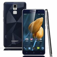 """5.5"""" Touch Android Unlocked 4 Core Dual SIM Free GPS 3G 5MP Mobile Smart Phones"""
