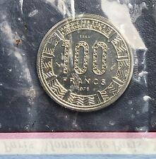 ESSAI RÉPUBLIQUE CENTRAFICAINE 100 Francs 1978 FDC