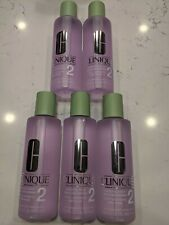 5x NEW Clinique Clarifying Lotion 2 Dry Combination 400 ml /13.5oz