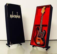 Noel Redding (Jimi Hendrix Experience): Fender Jazz-Guitar Miniature (UK Seller)