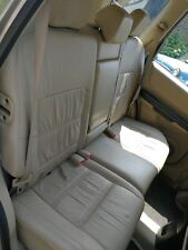 NISSAN X-TRAIL T30 MK1 2001-2007 REAR BACK BEIGE LEATHER SEAT COMPLETE