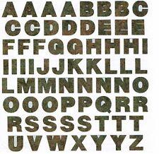 Mrs. Grossman -  Scrap Metal Alphabet Scrapbooking Stickers