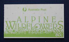 Australia (#996a) 1986 Alpine Flowers Mnh complete booklet
