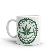 Cannabis medical Use only Mug-Weed Marijuana Pot Médicinal Symbole Cadeau #4652