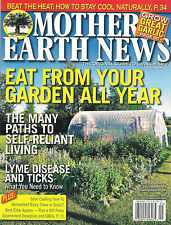 Mother Earth News EAT FROM YOUR GARDEN ALL YEAR Self Reliant Living DIY Solar