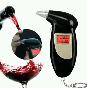 Professional LCD Digital Breath-Alcohol Tester Breathalyzer Police Detector  UK