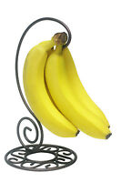 Kitchen Storage Bronze Metal Banana Holder Tree Hook