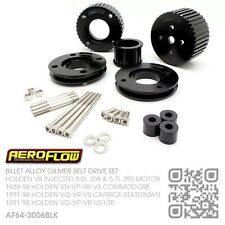 GILMER DRIVE SET V8 INJECTED 5.0L 304 MOTOR [HOLDEN VN-VP-VR-VS COMMODORE] BLACK