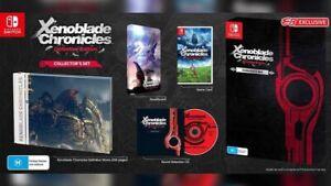 Xenoblade Chronicles Definitive Edition Collectors Set + Monado Nintendo Switch