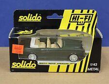 Solido hI-fI 1511 1:43 O Rolls Royce Corniche Convertible Dark Green MIB 80s
