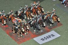 25mm ACW / confederate - regt 12 figures - cav (25662)