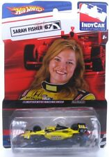 1:64 Hot Wheels Indy Car Series No.67 Sarah Fisher with Real Rider