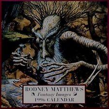 RODNEY MATTHEWS 1996 calendar 'FANTASY IMAGES'  very rare