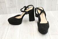 Chinese Laundry Nadia Platform Ankle Strap Heels, Women's Size 8, Black NEW