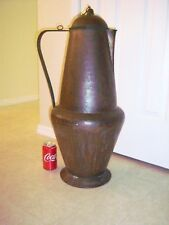 MAGNIFICENT LARGE ANTIQUE Bronze ISLAMIC / PERSIAN EWER - AMAZING EARLY EXAMPLE