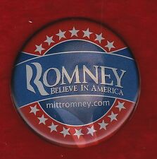 2012 SCARCE FULL COLOR  MITT ROMNEY PICTURE CAMPAIGN FLASHER