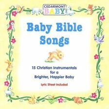 Baby Bible Songs - 15 Christian Instrumentals for a Brighter Happier Baby CD 200